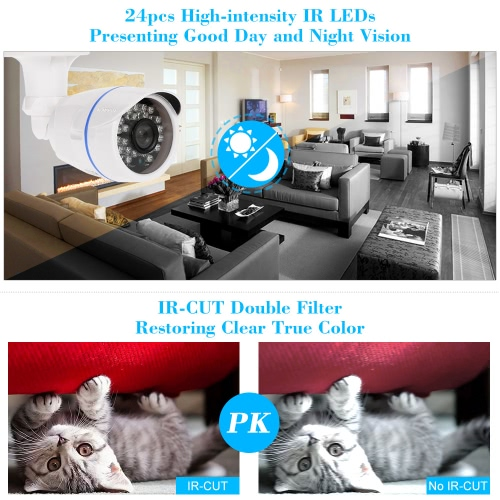 "KKmoon  960P 1.3MP AHD Bullet CCTV Camera 1/3"" CMOS 3.6mm 24 IR Lamps Night Vision Waterproof Outdoor Security NTSC SystemCCTV Cameras<br>KKmoon  960P 1.3MP AHD Bullet CCTV Camera 1/3"" CMOS 3.6mm 24 IR Lamps Night Vision Waterproof Outdoor Security NTSC System<br><br>Blade Length: 20.0cm"