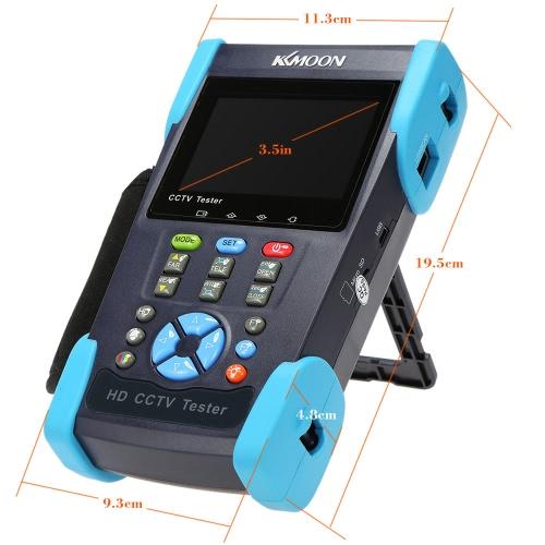 KKMOON 3.5in LCD CCTV Camera Tester Video Monitor SDI/CVI/TVI/AHD/PTZ/Cable Tester/Video Level Meter HD-2800ADHS S721-US
