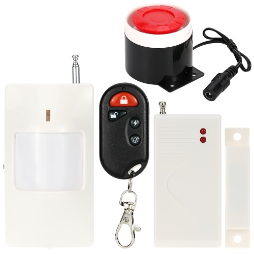 Super Loud Wireless Alarm System Home House Security Burglar System