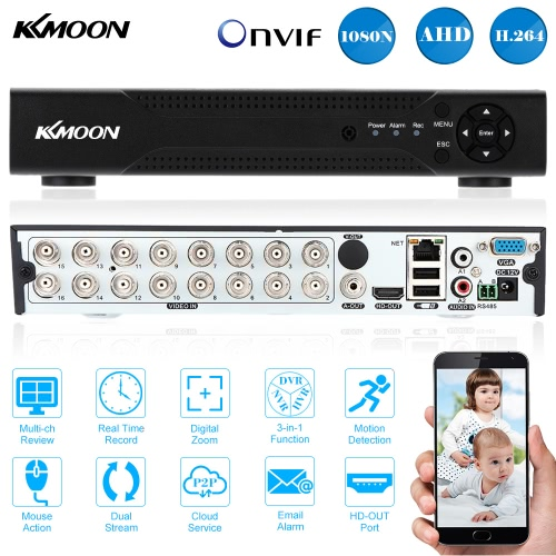 KKmoon 16 Channel 720P CCTV Standalone Analog High Definition H.264 HD Remote View Home Security SystemVideo monitor<br>KKmoon 16 Channel 720P CCTV Standalone Analog High Definition H.264 HD Remote View Home Security System<br><br>Blade Length: 33.0cm