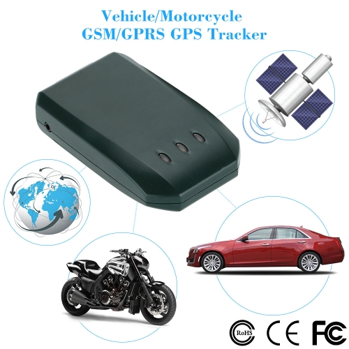 Vehicle/Motorcycle GPS Tracker Locator GSM GRRS Track Support 850/900/1800/1900MHz