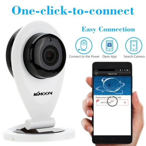 KKMOON H.264 1.0MP HD 720P Mini IP Camera P2P IR Cut WiFi Wireless Network IP Security Camera Webcam