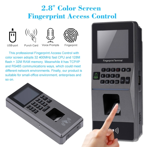 Biometric Fingerprint Access Control System TCP/IP, RS485