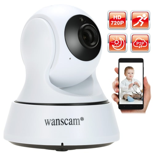 Wanscam HD 720P Megapixels Wireless WiFi Pan Tilt Network IP Camera Baby MonitorIP Cameras<br>Wanscam HD 720P Megapixels Wireless WiFi Pan Tilt Network IP Camera Baby Monitor<br><br>Blade Length: 16.1cm