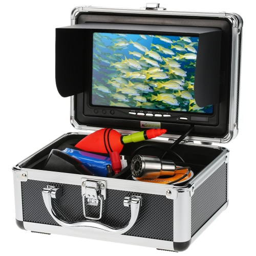 "KKmoon® HD 1200TVL Underwater Fish Finder Kit with 7"" LCD Monitor + 30M Camera + 4500mah Battery + Portable Alloy Case support Waterproof Night View Plug and Play for Ice/Sea/River FishingCCTV Cameras<br>KKmoon® HD 1200TVL Underwater Fish Finder Kit with 7"" LCD Monitor + 30M Camera + 4500mah Battery + Portable Alloy Case support Waterproof Night View Plug and Play for Ice/Sea/River Fishing<br><br>Blade Length: 24.3cm"
