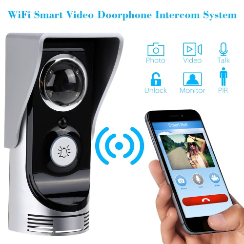 Wi-Fi Enabled Rainproof Video Doorbell for Android or IOSDoor Access&amp;Doorbell<br>Wi-Fi Enabled Rainproof Video Doorbell for Android or IOS<br><br>Blade Length: 23.3cm