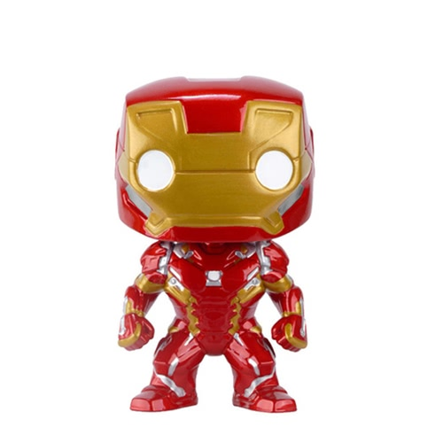 Funko POP Marvel Series Captain America 3 Civil War Action Figure Iron Man Kids Toy Funs Collection T700