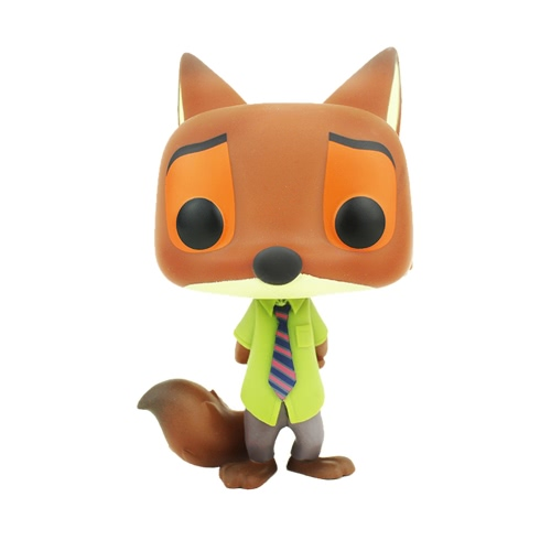 FUNKO POP Movie Zootopia Action Figure Vinyl Model Ornaments - Nick Wilde T663