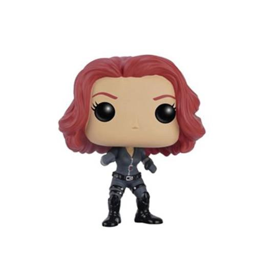 Funko POP Marvel Captain America 3 Civil War Action Figure Black Widow Movie Figure T703