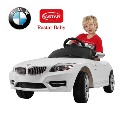 Buy Rastar Kids 6V Electric Ride Toy Car BMW Z4 Four Wheel Vehicle Parent Remote Control White