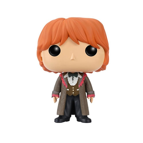 FUNKO POP Movie Harry Potter Ron Weasley Yule Ball Action Figure Vinyl Model Ornaments T645