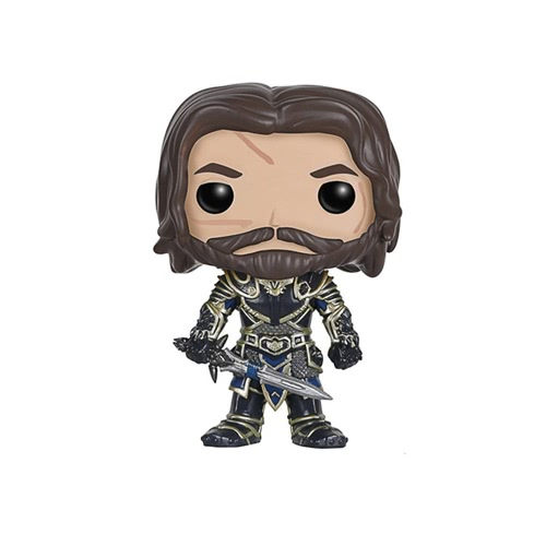 FUNKO POP Movie Warcraft Action Figure Vinyl Model Ornaments - Lothar T655