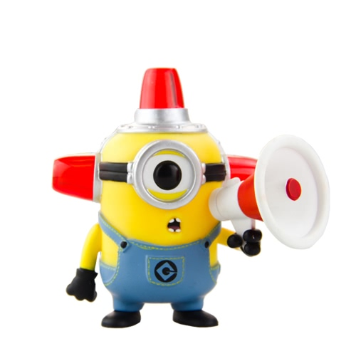 FUNKO POP Movie Despicable Me 2 Action Figure Vinyl Model Collection - Fire Alarm Minion T745
