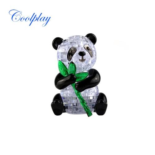 Coolplay 3D Crystal Puzzle Panda Model Cute DIY Building Toy Gift Gadget Crystal BlocksDIY Toys<br>Coolplay 3D Crystal Puzzle Panda Model Cute DIY Building Toy Gift Gadget Crystal Blocks<br><br>Blade Length: 18.0cm