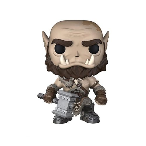 FUNKO POP Movie Warcraft Action Figure Vinyl Model Ornaments - Orgrim T656