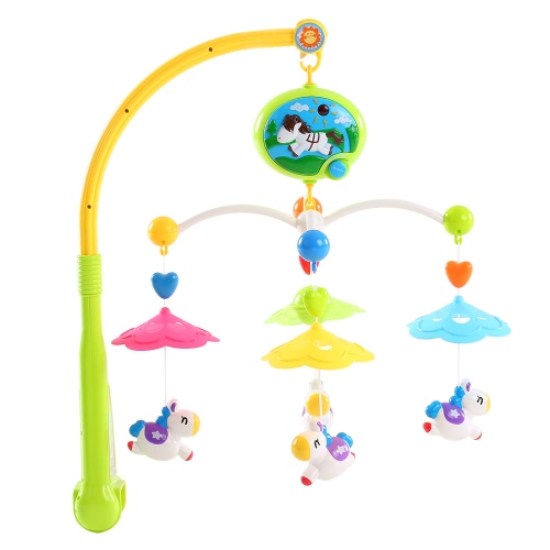 Baby Bed Bell Musical Mobile Crib a