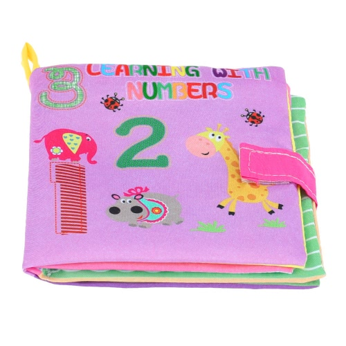 Coolplay Baby's First Fabric Book Washable Soft