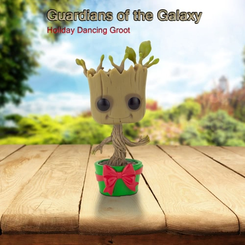 FUNKO Guardians of the Galaxy Holiday Dancing Groot Action Figure T698