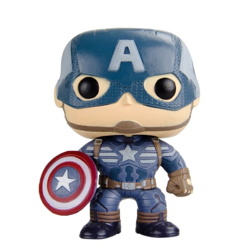 Funko POP Marvel Captain America 2 Action Figure Captain America Movie Figure T708