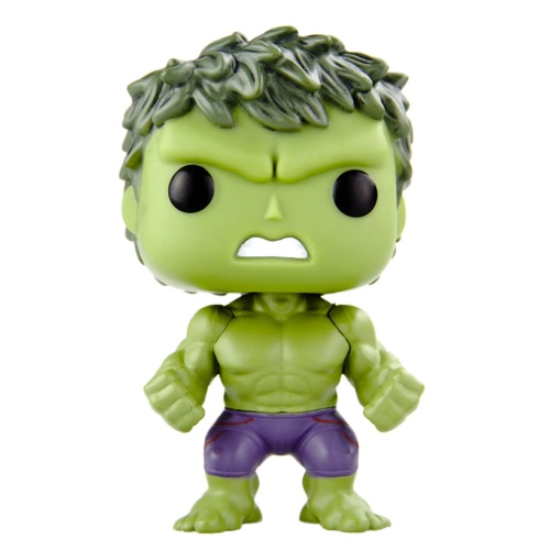 Funko POP Marvel Avengers 2 Age of Ultron Hulk Action Figure Movie Figure Model Toy T709
