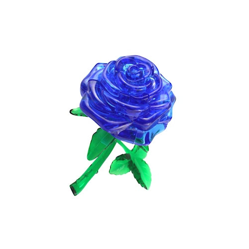 Coolplay 3D Crystal Puzzle Rose Model DIY