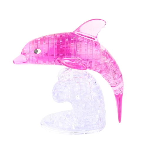 Coolplay 3D Crystal Puzzle Dolphin Shaped Model