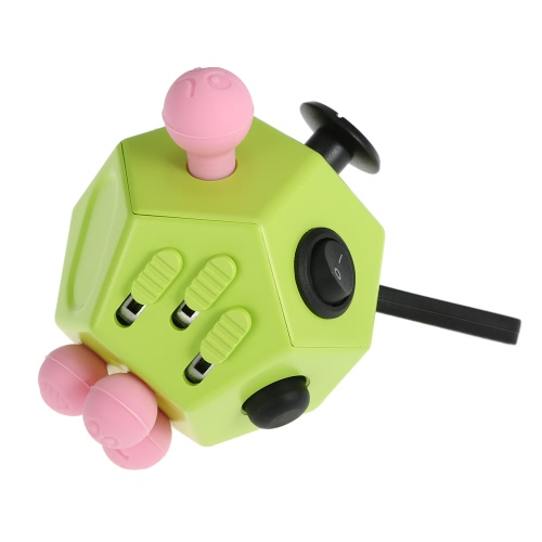 12 Sides Fidget Cube Stress Anxiety Relief Desk Pocket Attention Toy for Children and AdultsDIY Toys<br>12 Sides Fidget Cube Stress Anxiety Relief Desk Pocket Attention Toy for Children and Adults<br><br>Blade Length: 8.0cm