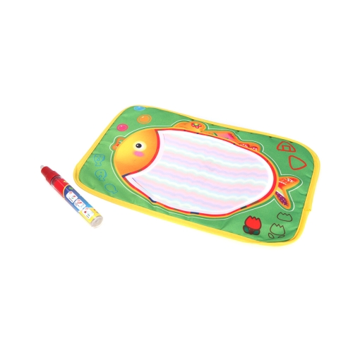 Buy Kids Drawing Water Mat Tablet Aqua Doodle 29 * 19cm Multicolour Fish Pattern Board + Pen