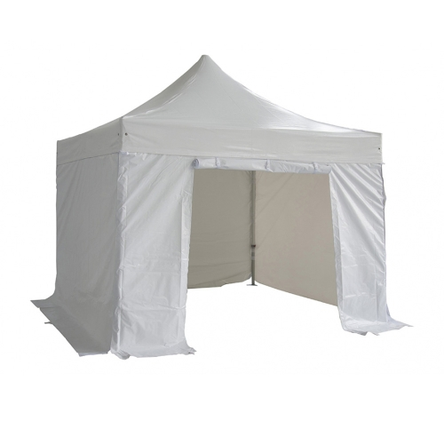 White Folding Tent 520g/m? PVC 3X3m 50mm Aluminium Tube + 4 Pieces of Side ClothTents<br>White Folding Tent 520g/m? PVC 3X3m 50mm Aluminium Tube + 4 Pieces of Side Cloth<br><br>Blade Length: 160.0cm
