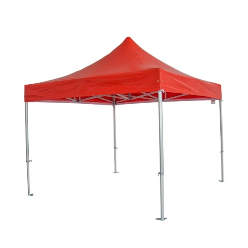 3 * 3m Red Aluminium Foldable Tent
