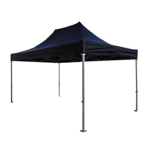 Black Aluminium Tube 5m High Folding Tent