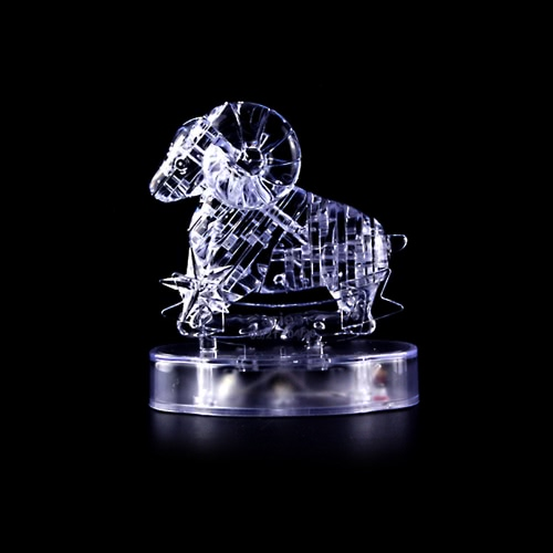 Coolplay 3D Crystal Puzzle Translucent DIY Puzzle