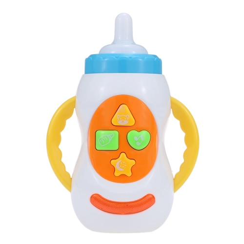 Coolplay Musical Bottle Feeding Toy with Lights Sounds Songs Intellecture Enlightment Toy for Baby WhiteDIY Toys<br>Coolplay Musical Bottle Feeding Toy with Lights Sounds Songs Intellecture Enlightment Toy for Baby White<br><br>Blade Length: 12.5cm