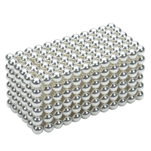 3 mm DIY Magnetic Beats Magic Balls Puzzle Set 432 Pieces Grey