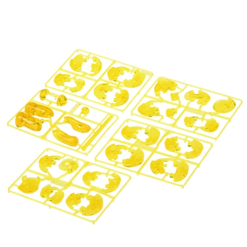 Coolplay 3D Crystal Blocks Assembly Puzzle Translucent