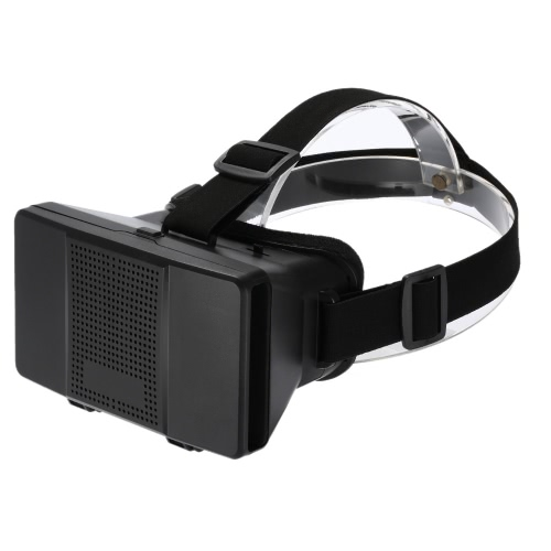 3D VR Virtual Reality Glasses Headsets 3D Movie Game Glasses Head-Mounted Headband for All 3.5-5.5in Smart Phones V2090