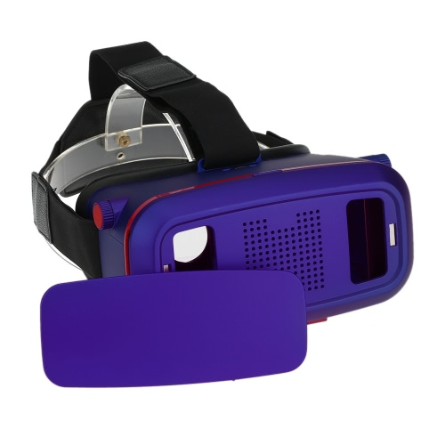 ST-VR04B Virtual Reality Glasses 3D VR Box Headset 3D Movie Game Glasses Head-Mounted for 4.0 to 6.0 Inches Android iOS Smart Phones