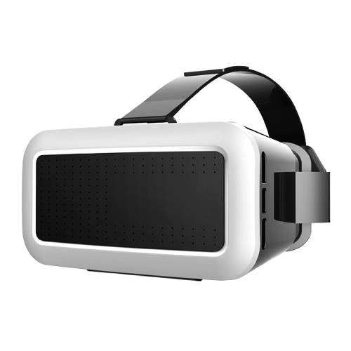 Virtual Reality Glasses 3D VR Box Glasses Headset Universal for Android iOS Windows Smart Phones with 4.0 to 6.0 Inches V2291