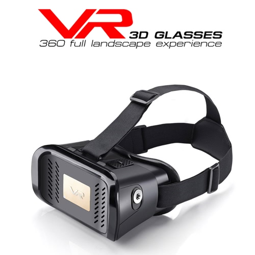 "Private VR Virtual Reality Glasses Headset 3D Glasses DIY 3D Movie Game Glasses with  Magnetic Switch  Head-Mount Headband for iPhone Samsung / All 3.5 ~ 6.0"" Smart Phones"