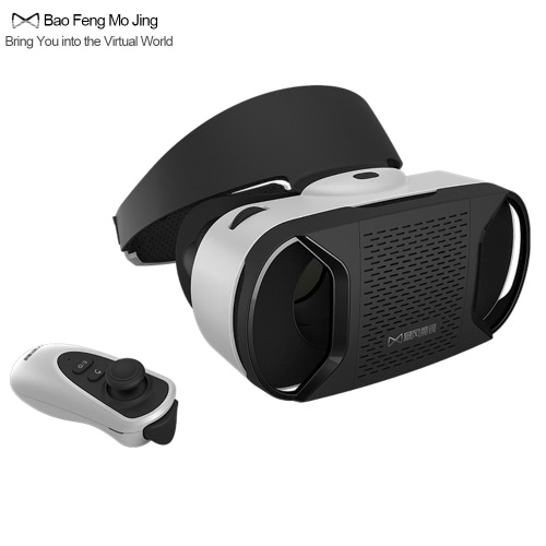 Bao Feng Mo Jing MJ4-1 VR Virtual Reality Glasses 3D VR Glasses Headset 3D Movie Game w/ Bluetooth 3.0 Gamepad Universal for Smart Phones within 4.7 to 5.5 Inches V2032