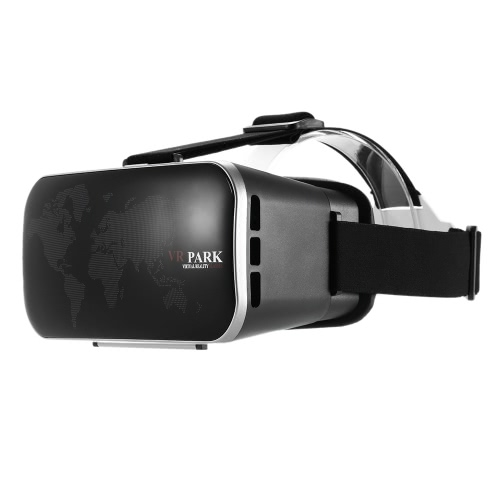 VR Virtual Reality Glasses Headset 3D Glasses 3D Movie Game Glasses Head-Mounted Headband for All 4-6 inches Smart Phones V2082
