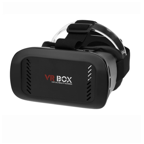 VR-03 Virtual Reality Glasses 3D VR Box Glasses Headset Universal for Android iOS Windows Smart Phones with 3.5  to 6.0 Inches