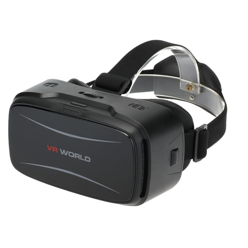 Virtual Reality Glasses 3D VR Box Glasses Headset for Android iOS Windows Smart Phones with 4.5  to 5.5Inches V2162