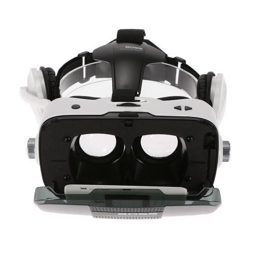 VR BOSS Virtual Reality Glasses VR Box Talking Glasses Headset with Earphone Mic for Android iOS Windows Smart Phones with 4.0 to 6.3 Inches