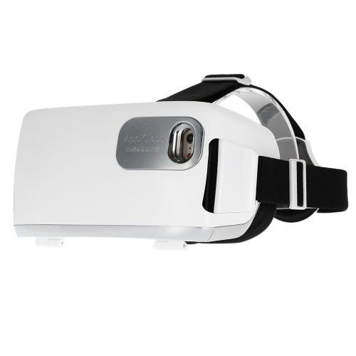 AppiGlass VR Box Virtual Reality 3D Glasses Movie Game Home Theater 3D Helmet Head-mounted White for iPhone 6S 6 Samsung S6 Note 5 / All 4.0 ~ 5.7 Inches Smart Phones