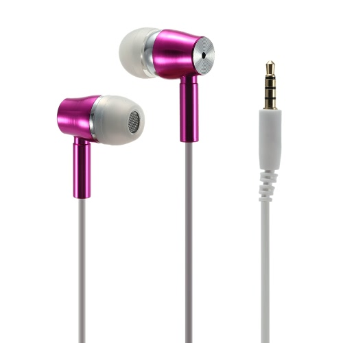 KangDao FC19 Radiation Free Headset Music Earphone Noise Reduction & HiFi with 3.5mm Jack Plug + Mic The Original Patented - White for iPhone iPad Samsung HTC Desktop Notebook Laptop MP3 MP4 MP5 V1656