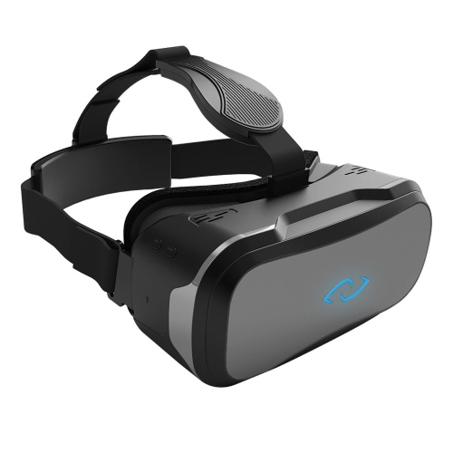 3Glasses D2 VR Headset Virtual Reality Glasses Display VR Game 3D Movie 2K 5.5inch TFT-LCD Display Screen Head-Mounted w/HDMI USB Cable for Computer Notebook V2036