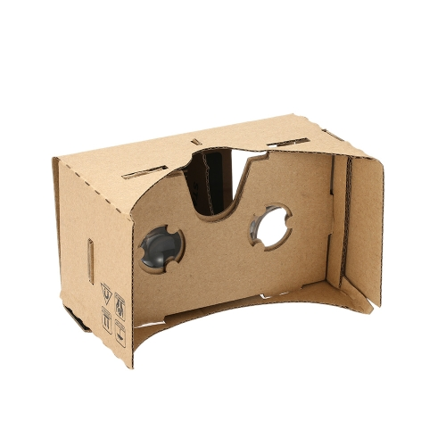 "Halloween 3D Glasses DIY Google Cardboard Virtual Reality VR Mobile Phone 3D Viewing Glasses for 5.5"" Screen"