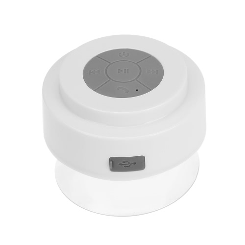 Buy PF002 Wireless Bluetooth Stereo Shower Speaker IPX 6 Waterproof Absorptive Hands-free Mic iOS / Android Smart Phones enable Devices