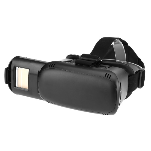 VR MARS Virtual Reality Glasses 3D VR Box Glasses Headset Universal for Android iOS Windows Smart Phones with 3.5  to 6.0 Inches  Black V2283B